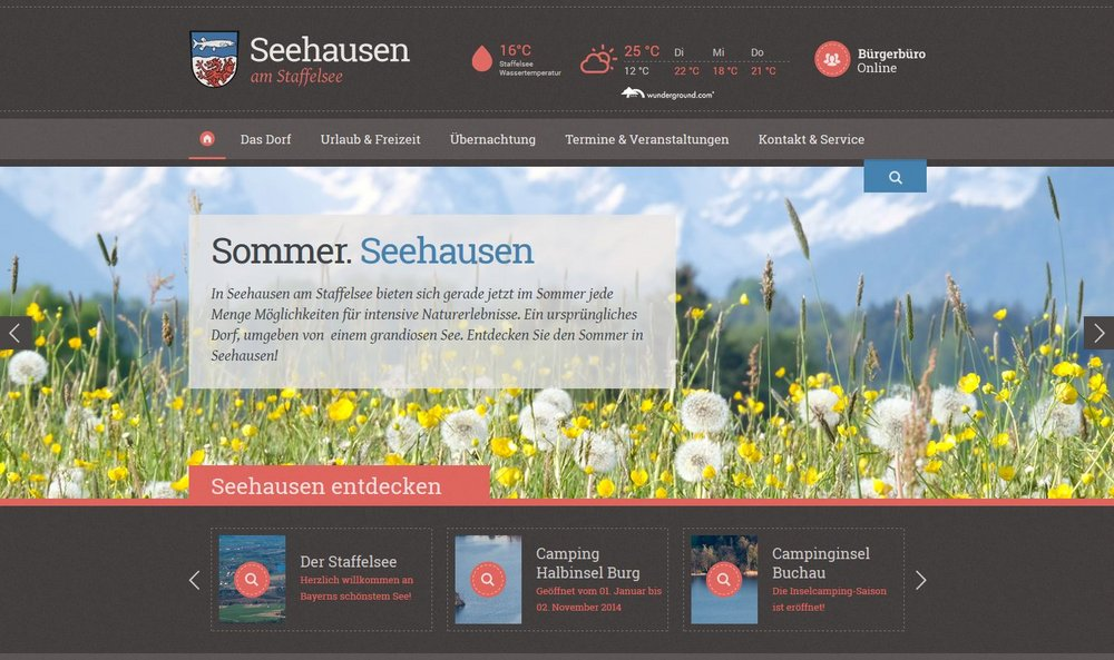 TYPO§-Website Seehausen am Staffelsee